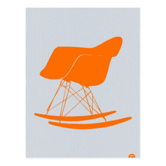 Eames Rocking chair Postcard