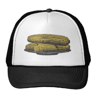 ear of corn corn on the cob trucker hat