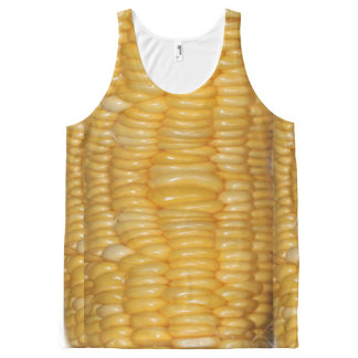 Ear of Corn Halloween Costume All-Over Print Tank Top