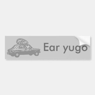 ear yugo bumper stickers