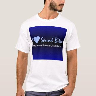 EARchives - I Love Sound Bites T-Shirt