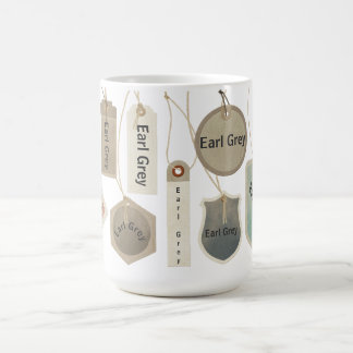Earl Grey Tea or Any Text Monogram  | Personalized Coffee Mug