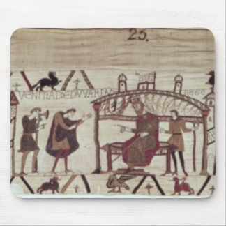 Earl Harold return to England to visit King Mouse Pad