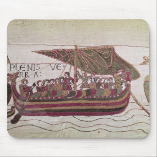 Earl Harold with his sails full of wind Mouse Mat