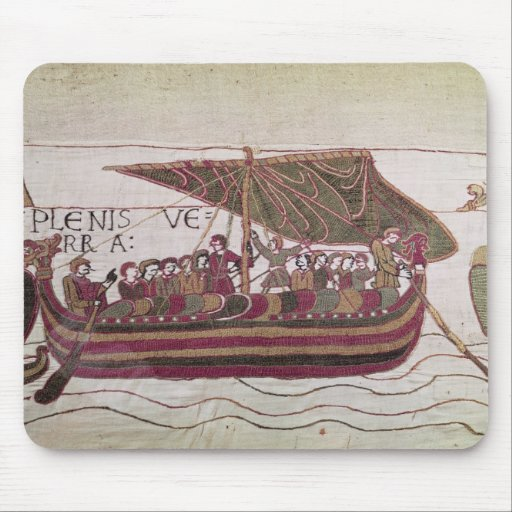 Earl Harold with his sails full of wind Mousepad
