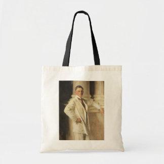 Earl of Dalhousie by Sargent, Vintage Portrait Art Budget Tote Bag