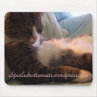 Earl -Spoiled Rotten Cats Mouse Pad