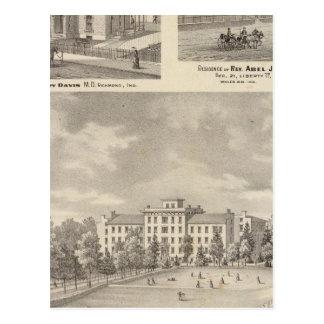 Earlham College, Richmond Postcard