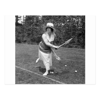 Early 1900s Tennis Fashion Post Cards