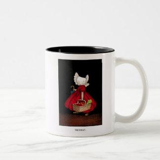 Early 1900's Thursday Sunbonnet Sue Coffee Mug