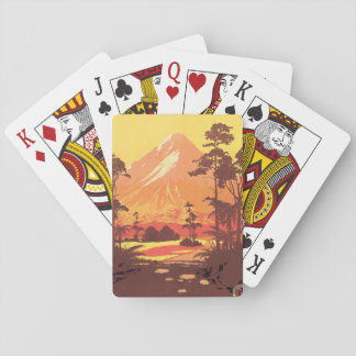 Early 20th century New Zealand Painting Playing Cards