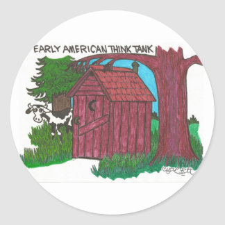 Early American think tank Stickers