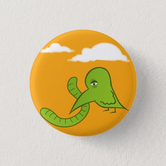 Early Bird 3 Cm Round Badge