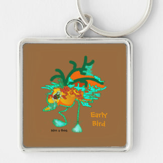 Early Bird keychain