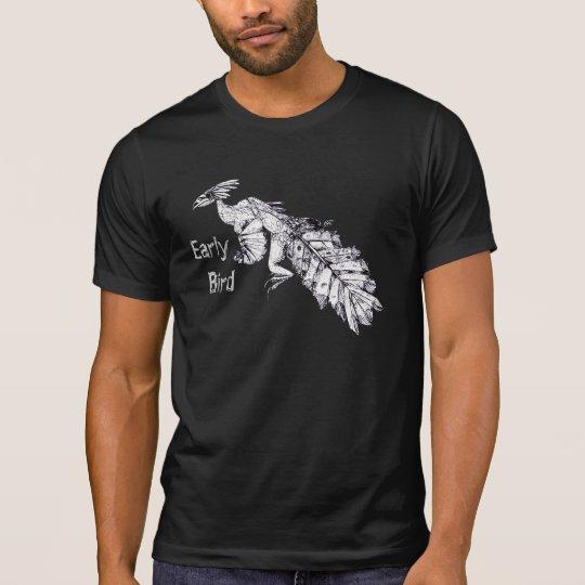 """Early Bird"" Prehistoric Bird T-Shirt"