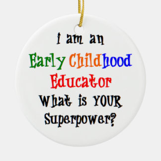 early childhood educator christmas ornament