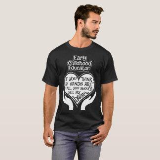 Early Childhood Educator See Heart Tshirt