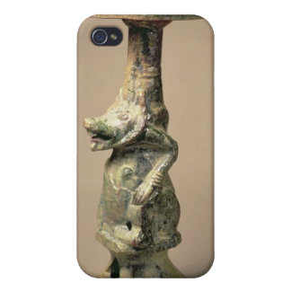 Early Chinese pottery lamp, tomb artefact iPhone 4 Cases