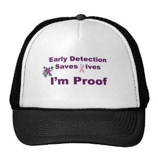 Early Detction T-Shirt Mesh Hat
