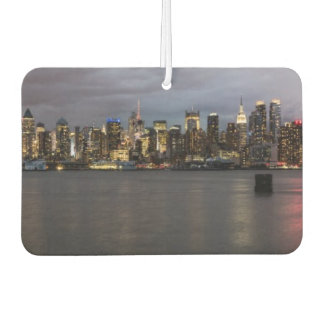 Early evening panoramic view of Manhattan Car Air Freshener