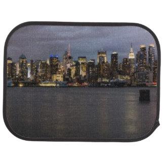 Early evening panoramic view of Manhattan Car Mat