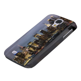 Early evening panoramic view of Manhattan Galaxy S4 Case