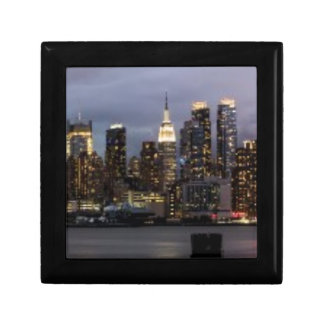 Early evening panoramic view of Manhattan Gift Box