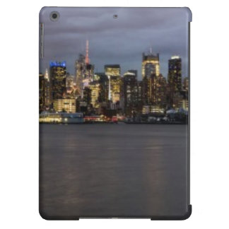 Early evening panoramic view of Manhattan iPad Air Case