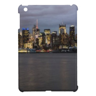 Early evening panoramic view of Manhattan iPad Mini Covers
