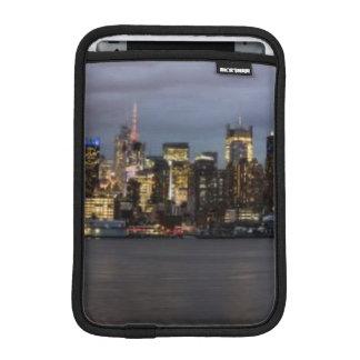 Early evening panoramic view of Manhattan iPad Mini Sleeve