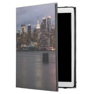 "Early evening panoramic view of Manhattan iPad Pro 12.9"" Case"