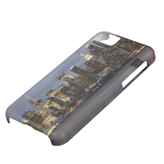 Early evening panoramic view of Manhattan iPhone 5C Case
