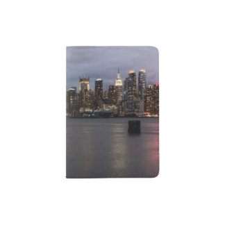 Early evening panoramic view of Manhattan Passport Holder