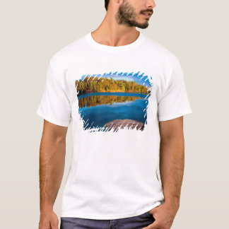 Early Evening reflections in the boundry waters T-Shirt