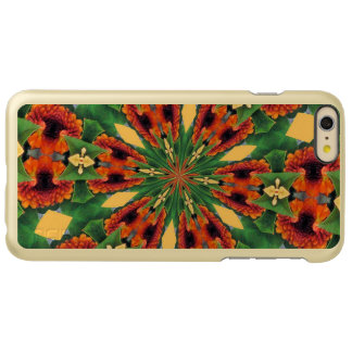 Early Fall Flowers Cheery Floral Motif Pattern Incipio Feather® Shine iPhone 6 Plus Case