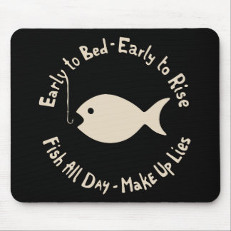 Early Fish Lies Mouse Pad