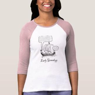 Early Genealogy T-shirt