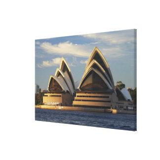 Early Light on Sydney Opera House, Sydney, New Canvas Print