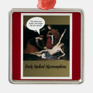Early Medical Misconceptions -Funny Christmas Ornament