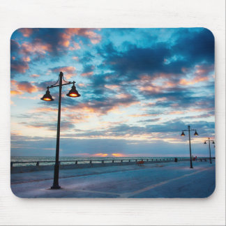 Early Morning along Atlantic Ocean and the Key Mouse Mat