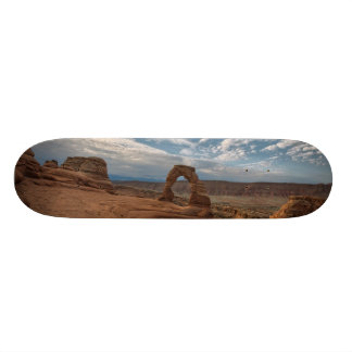 Early Morning at Delicate Arch Skate Board Decks