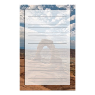 Early Morning at Delicate Arch Stationery