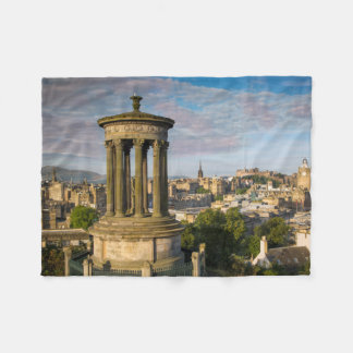 Early morning at Dugald Stewart Monument Fleece Blanket