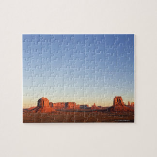 Early morning at Monument Valley Navajo Tribal Jigsaw Puzzle
