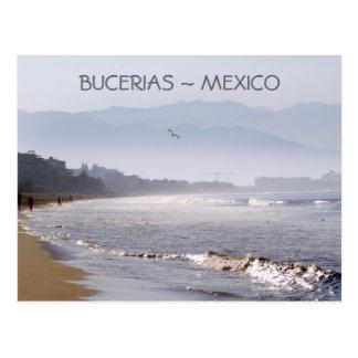 Early Morning Bucerias Beach Mexico Post Card