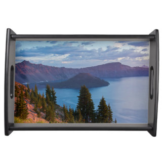 Early Morning, Crater Lake Serving Tray