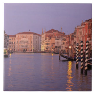 early morning Grand Canal Tour, Venice, Italy Tile
