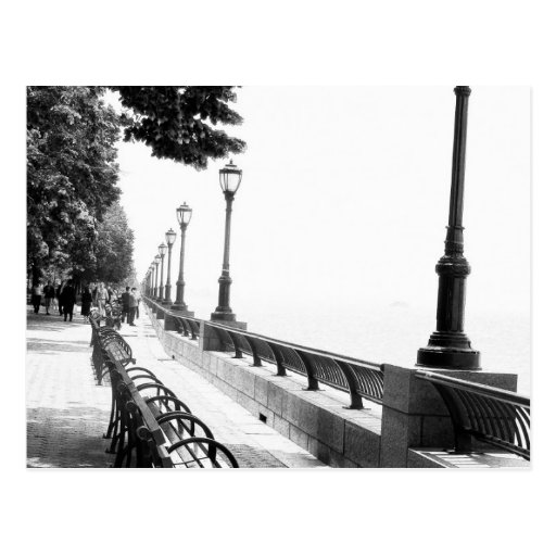 Early Morning in Manhattan Postcard