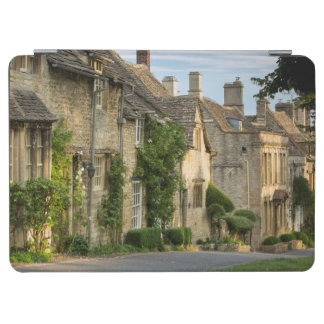 Early morning over connected cottages iPad air cover