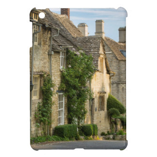 Early morning over connected cottages iPad mini case